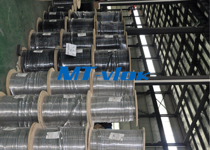 Seamless ASTM A269 TP316L / 304L stainless steel coil tube ISO 9001 & PED & AD2000