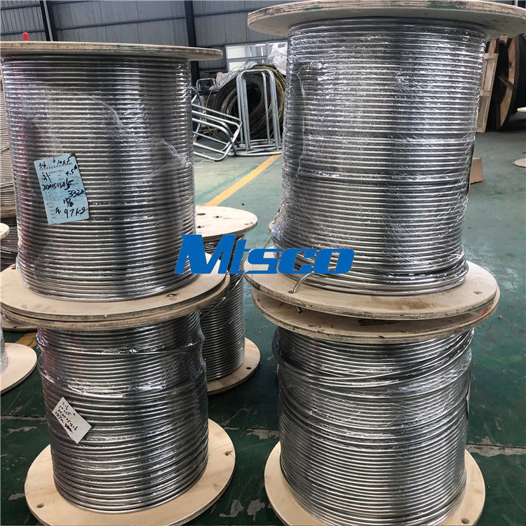 ASTM A269 2.38*0.51mm TP316 316L SS Coiled Tubing